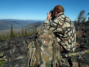 Glassing while Hunting for Elk in Montana