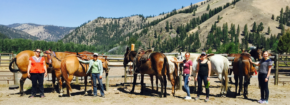 Montana horseback riding and trail rides