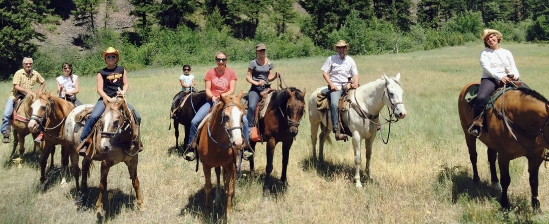 Montana trail rides JM Bar Outfitters