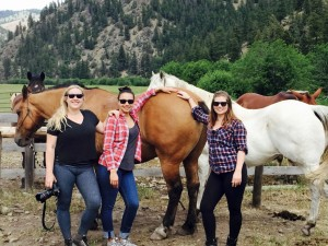 Missoula Montana trail rides with horses